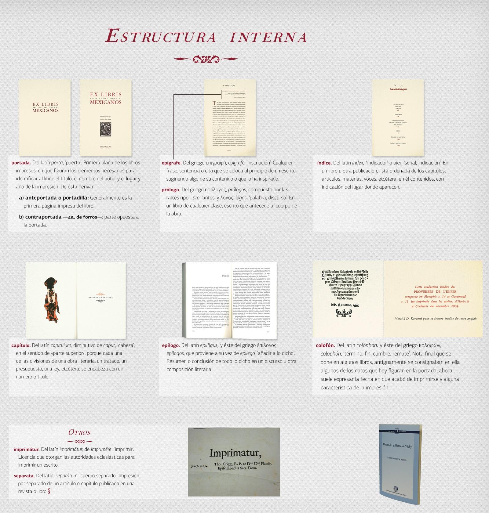 La Estructura De Un Libro